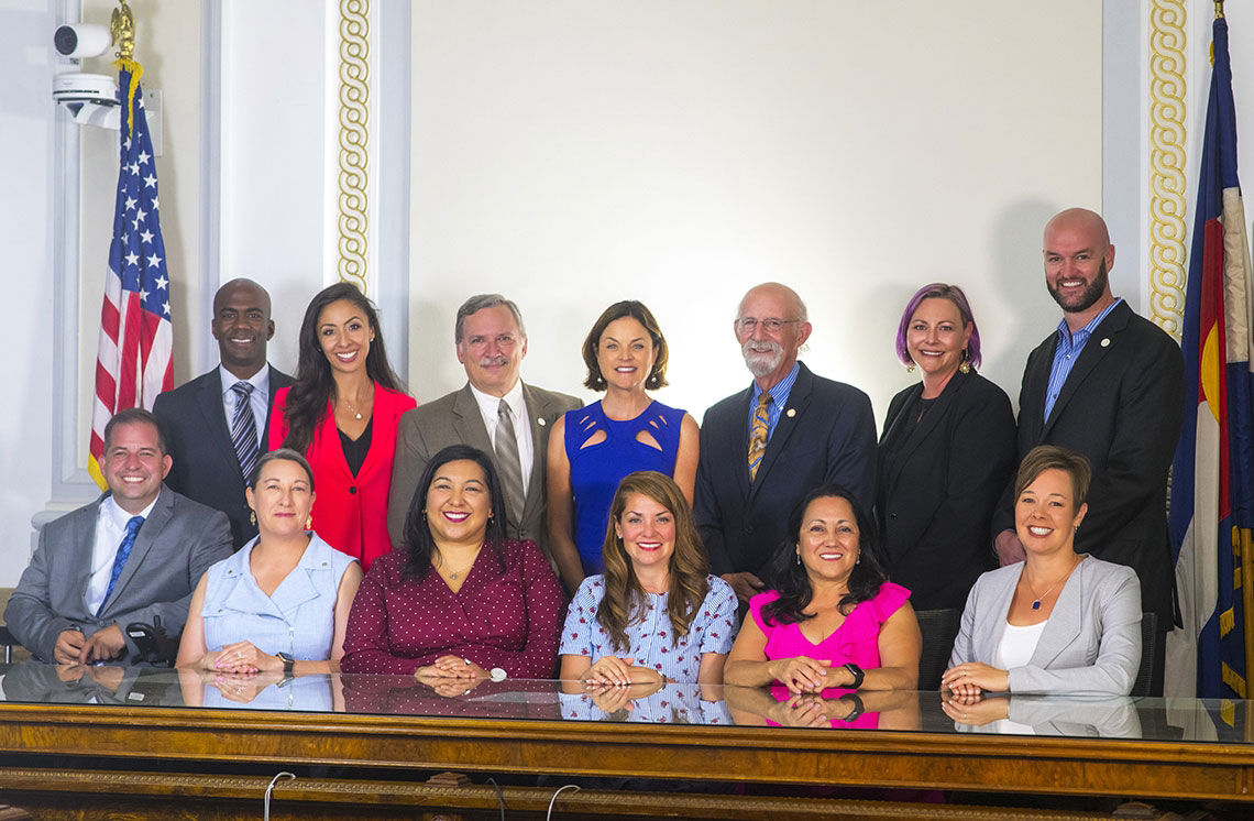 Group photo of 2020 Denver City Councilmembers