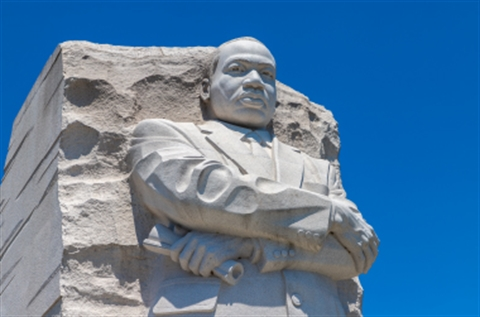 Photo of the Martin Luther King, Jr. monument in Washington, D.C.
